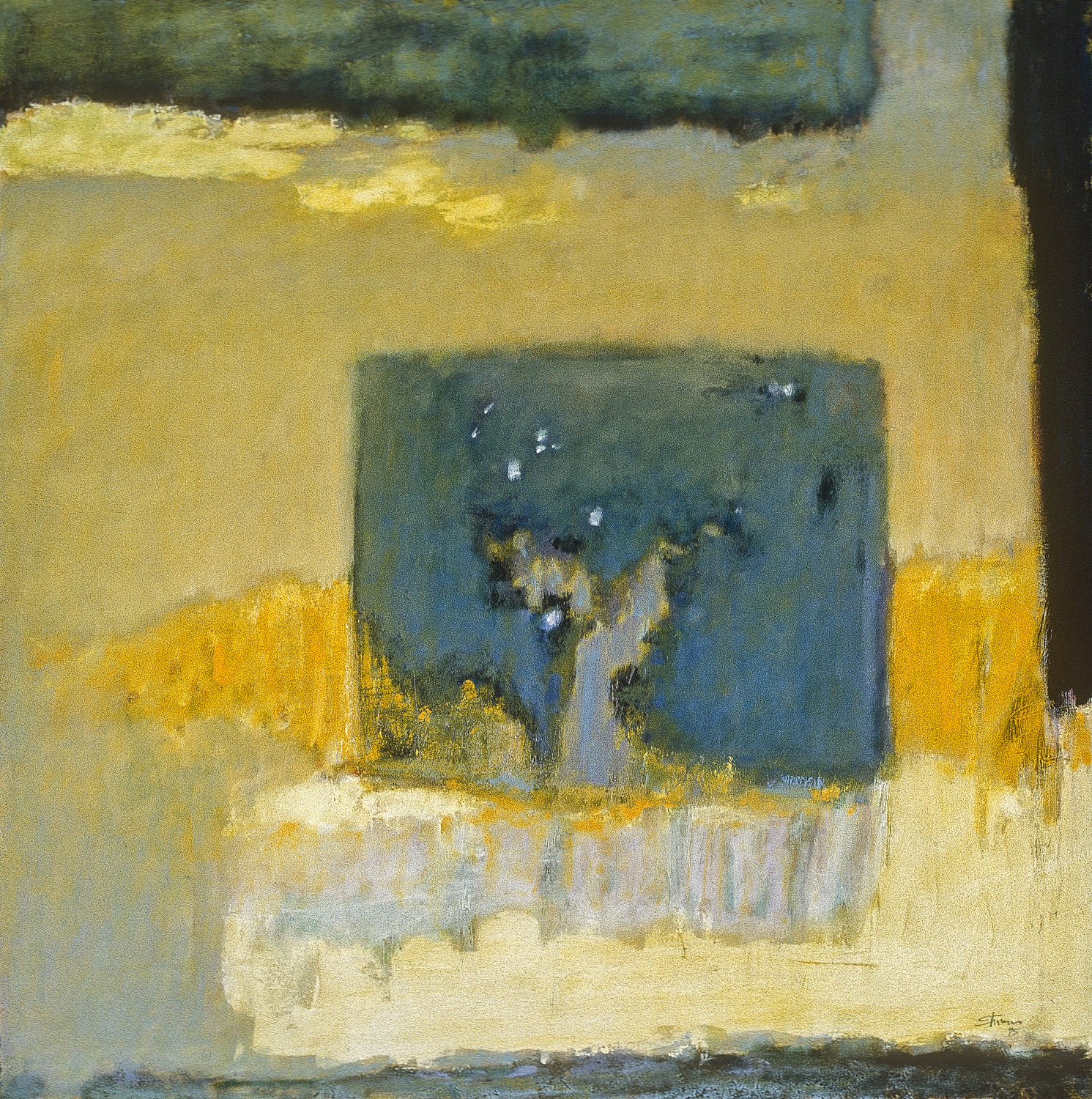 Silence Born   | oil on canvas | 36 x 36"