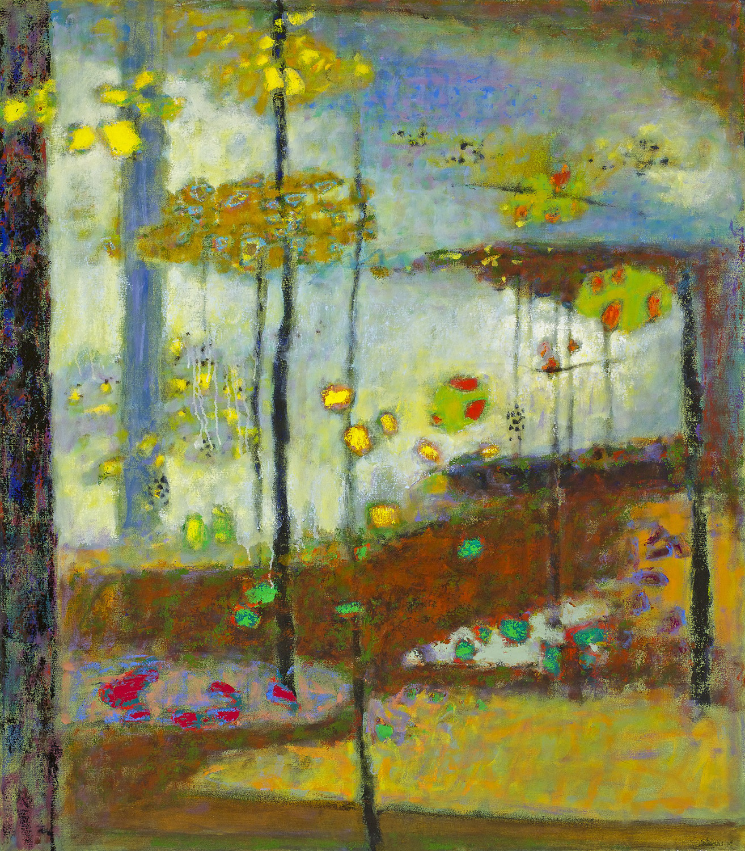 """Sanctuary     oil on canvas   55 x 48""""   2014"""