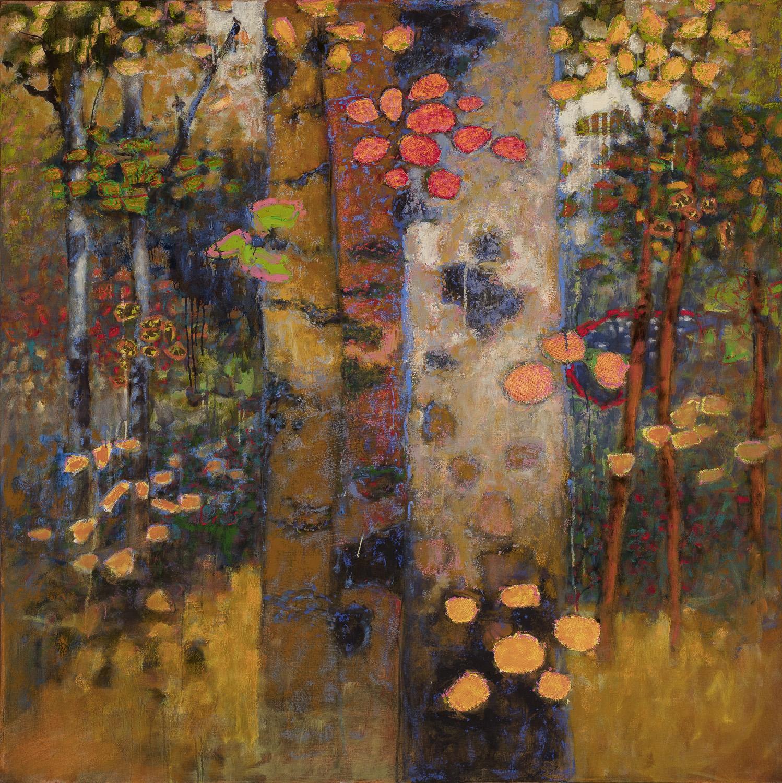 "Shinrin-Yoku   oil on canvas   48 x 48"""