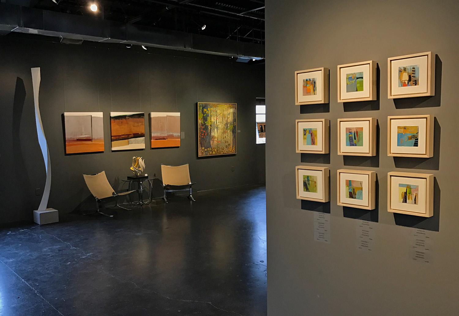 """Rick's oil painting Breathing Light has been included in Lafontsee Galleries group show  """"Freshly Considered"""""""