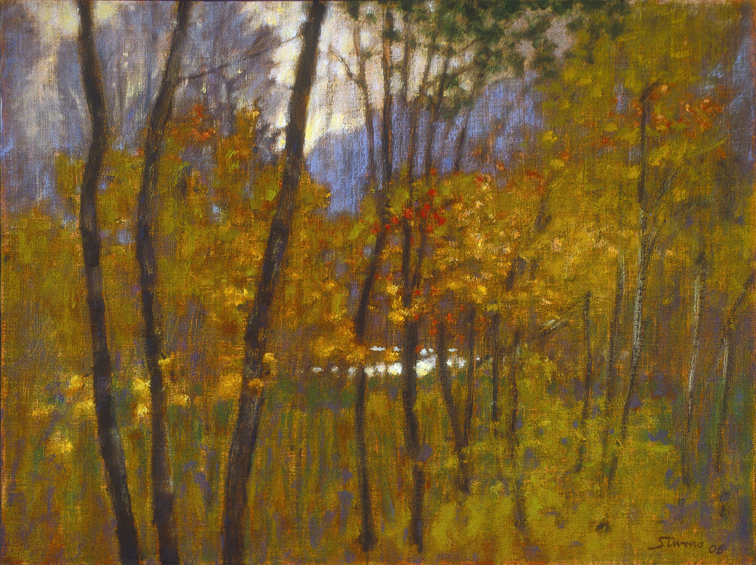 Rogue River   | oil on linen | 12 x 16"