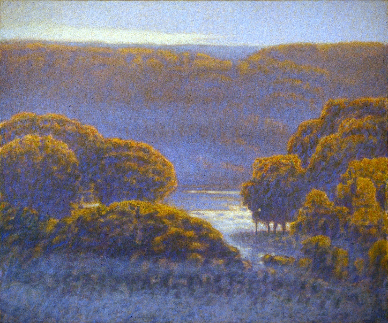 Manistee River Valley   | oil on canvas | 60 x 72"