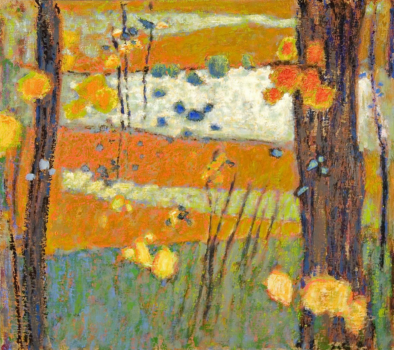 "Spirit Gathering   | oil on linen | 32 x 36"" | 2007"