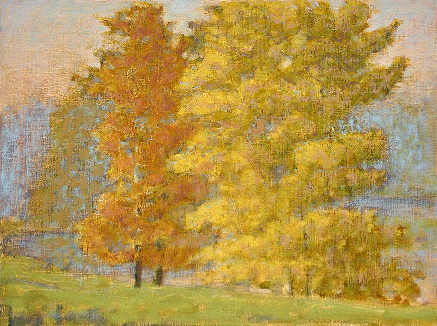 Mumford Farm   | oil on linen | 12 x 16"