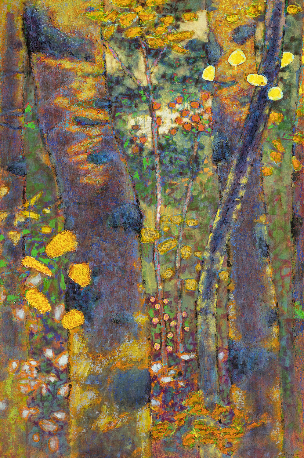 Reach Out and Touch It  | oil on canvas | 48 x 32"
