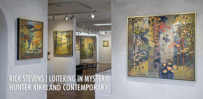 Rick's exhibition opens tonight at Hunter Kirkland Contemporary in Santa Fe