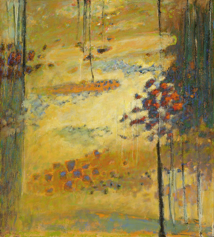 "Future Memories    oil on canvas   40 x 36""   2010"