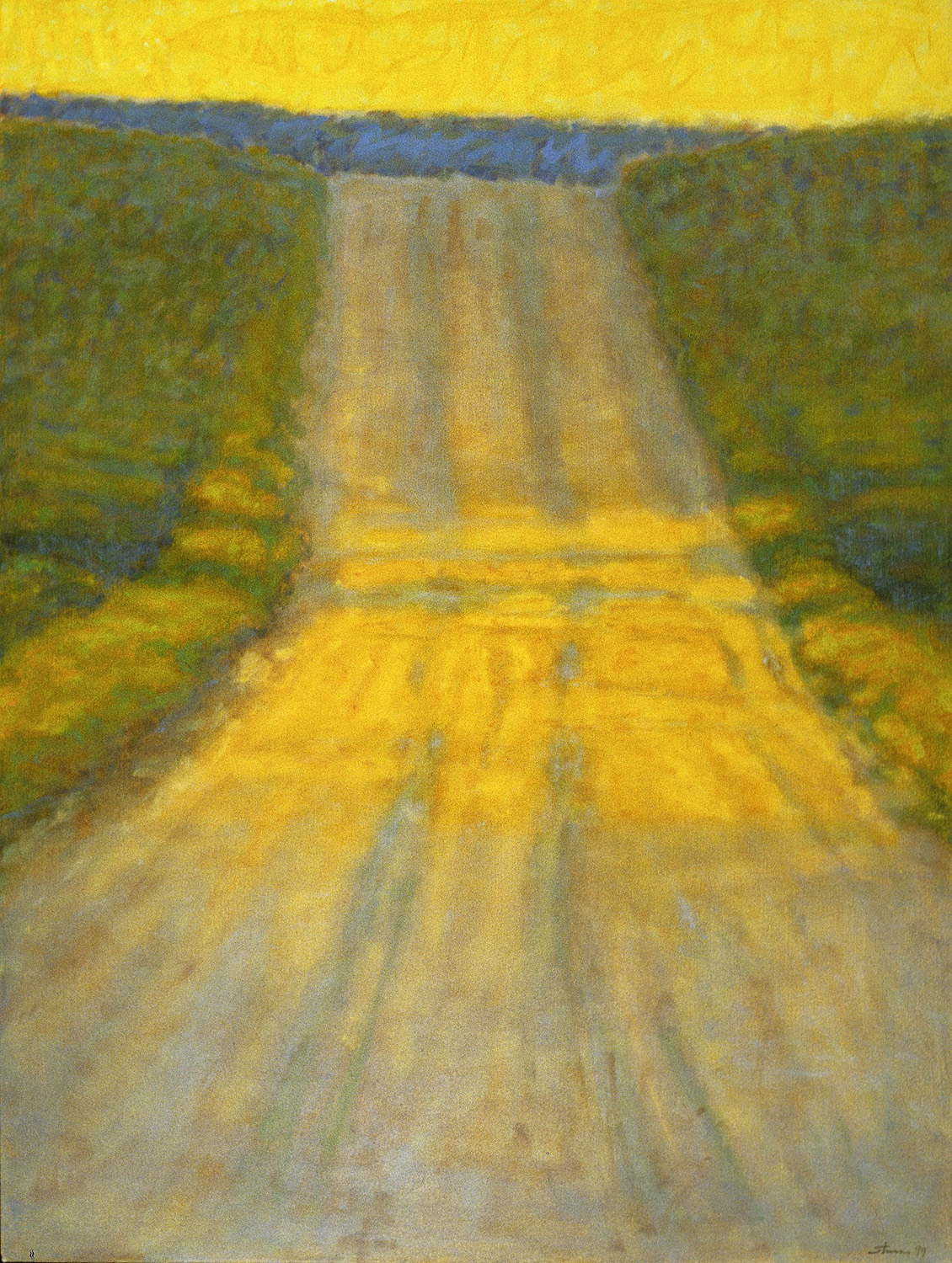 Country Road  | oil on canvas | 48 x 36"