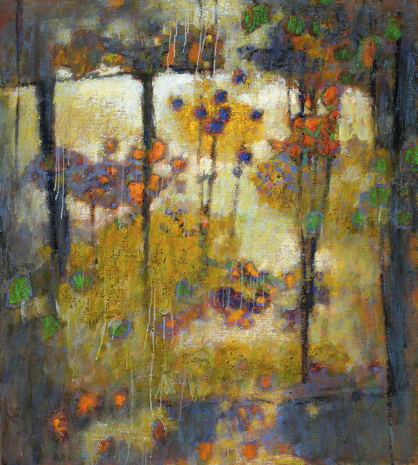 Language of Spirits  | oil on canvas | 40 x 36"