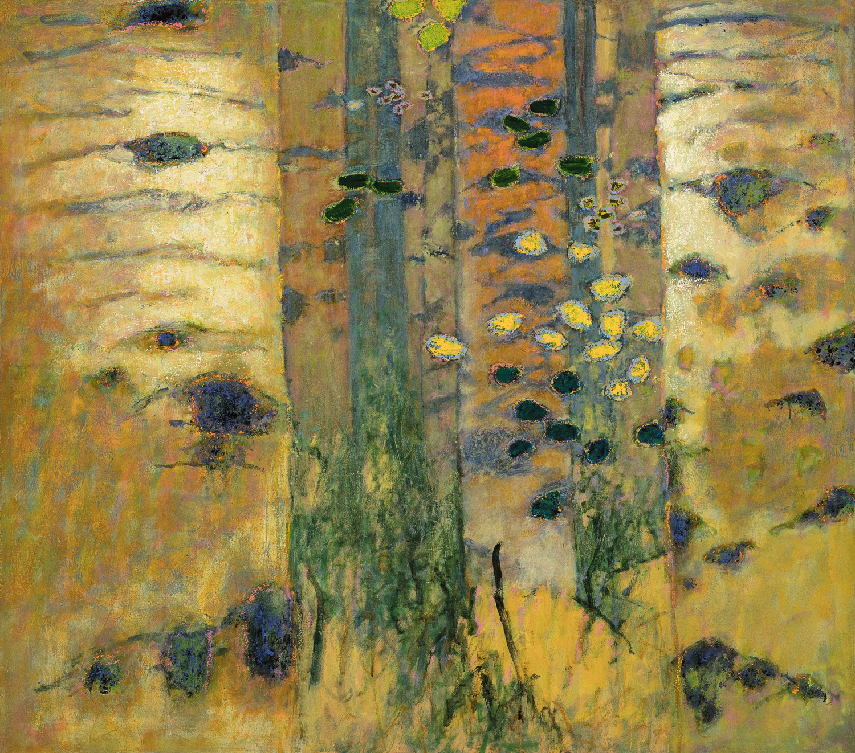 "Seeker of Patterns  | oil on canvas | 48 x 55"" | 2017"
