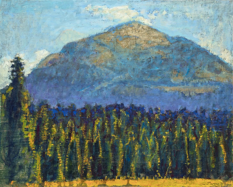 "Sheep Mountain  | oil on linen | 16 x 20"" | 2017"