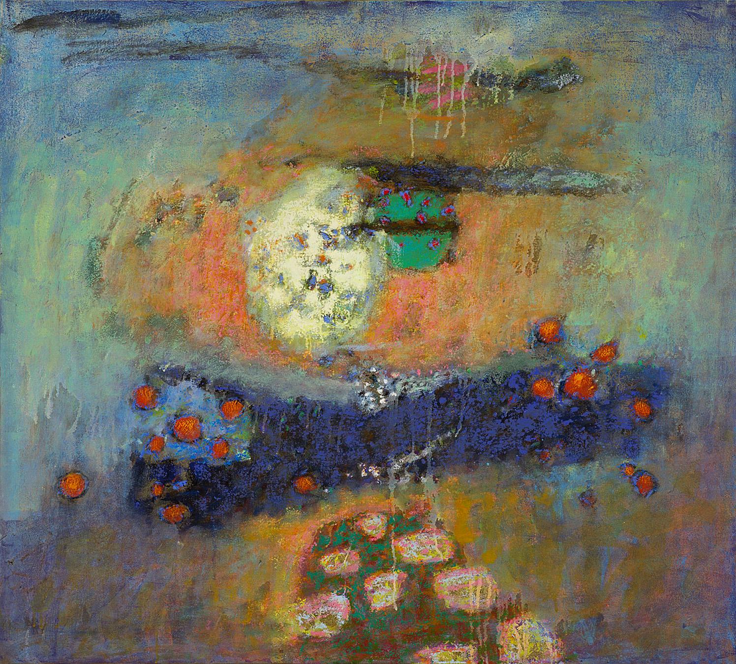 "Luminous Spaces  | oil on canvas | 36 x 40"" | 2014"