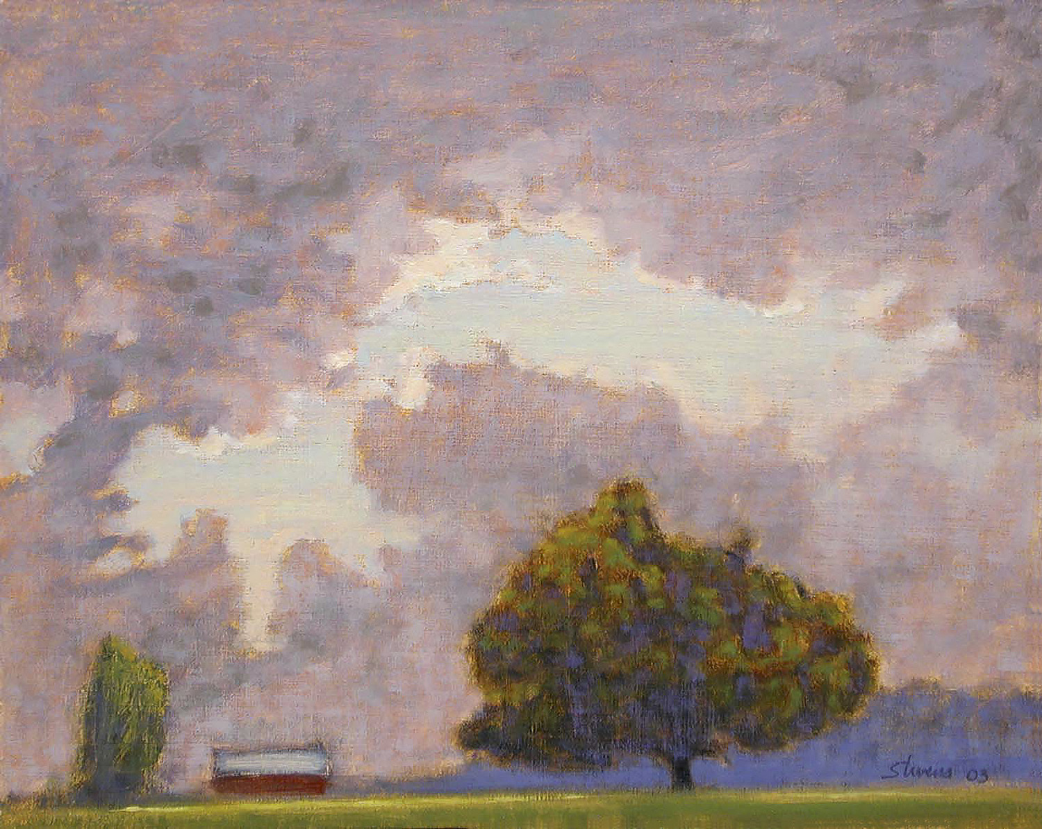 Mumford Farm   | oil on linen | 11 x 14"