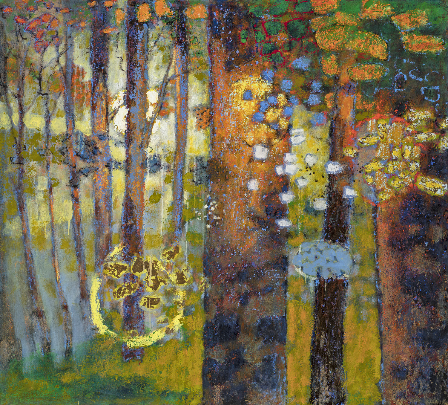 Presence of Longing  | oil on canvas | 36 x 40"