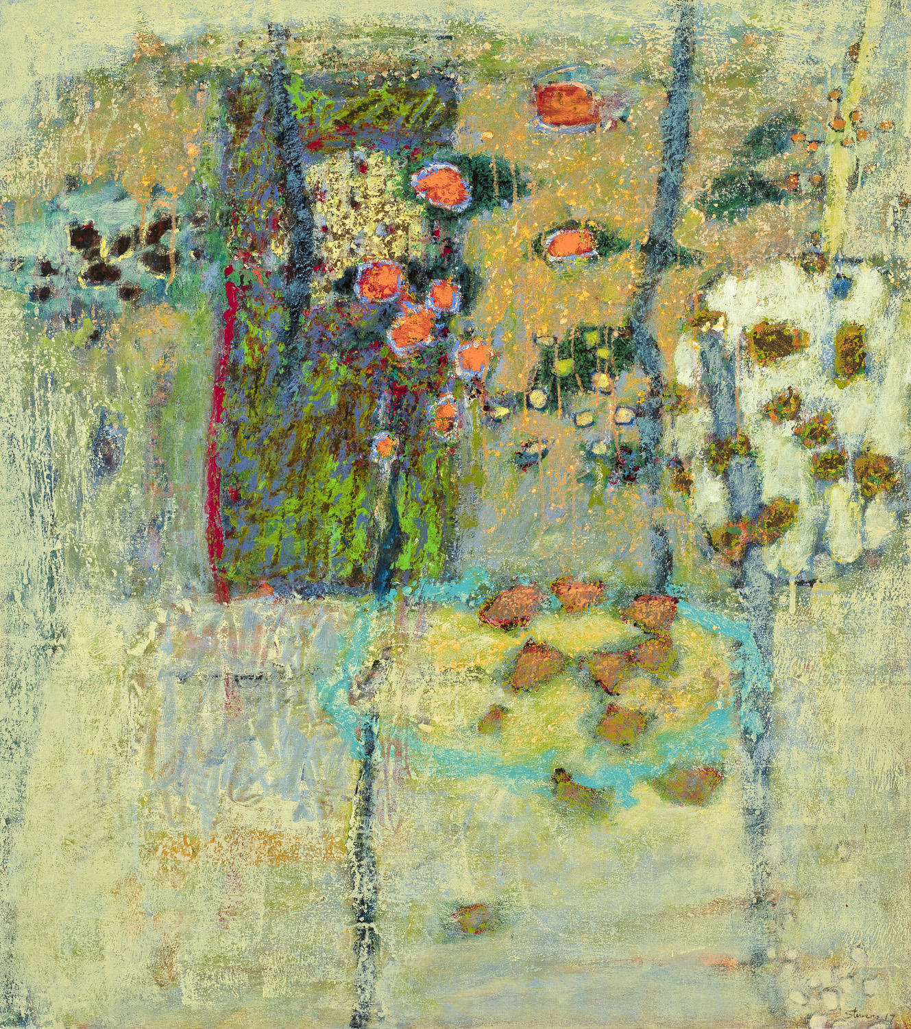 Patterns of Becoming  | oil on canvas | 36 x 32"