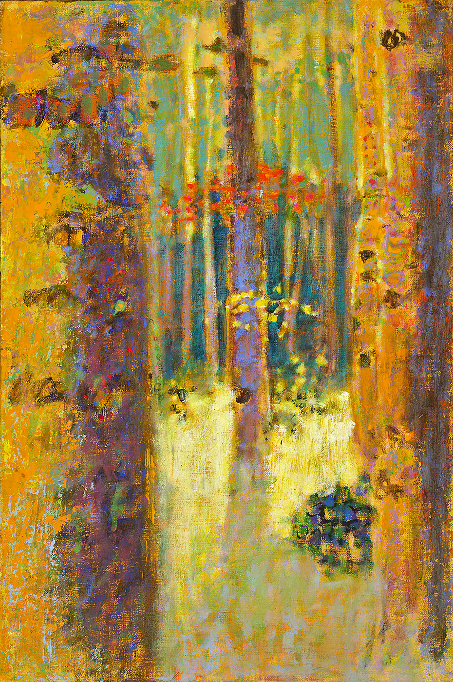 Aspen Luminosity  | oil on linen | 18 x 12"