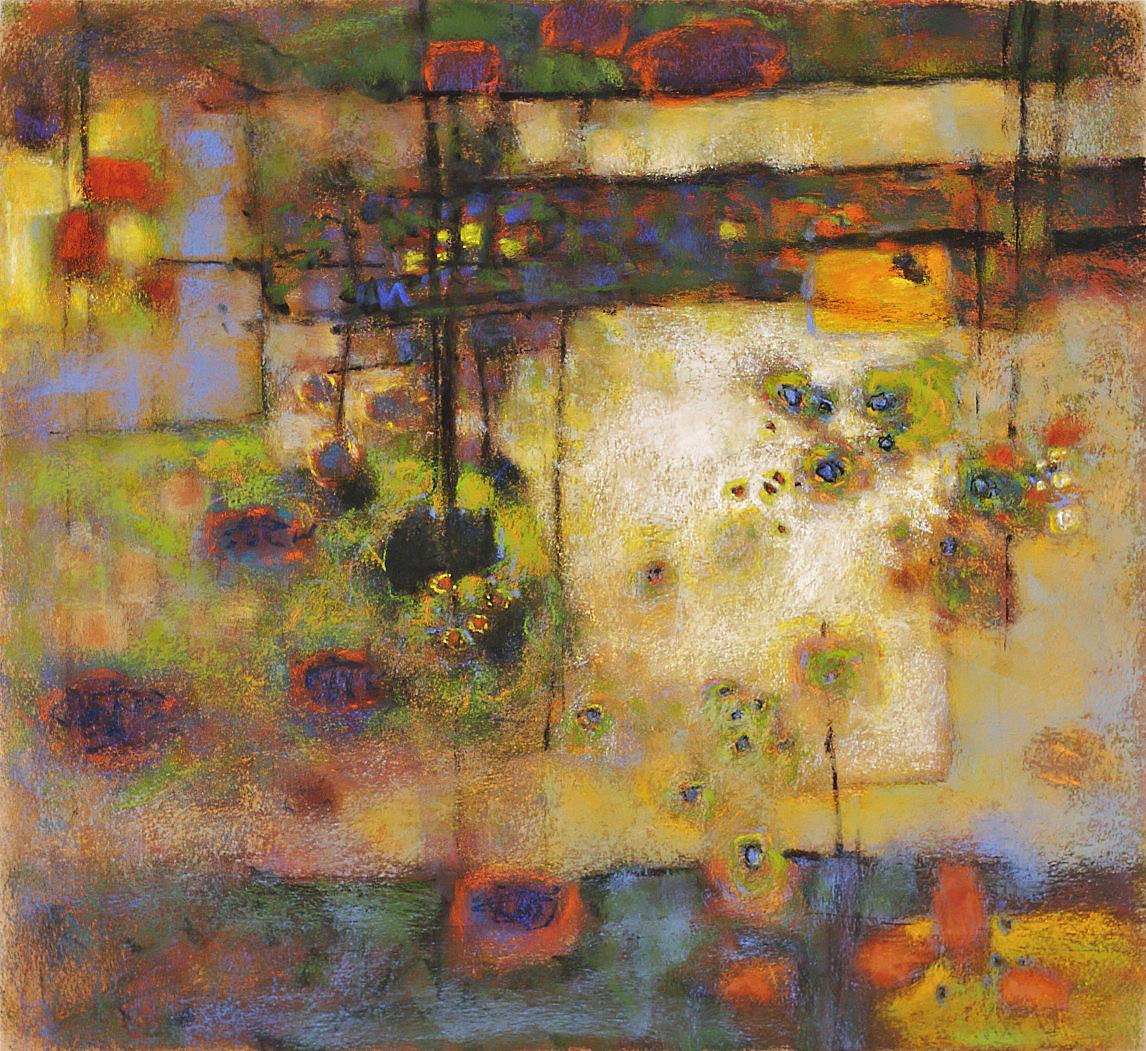 "Cinema of Dreams  | pastel on paper | 22 x 24"" | 2008"