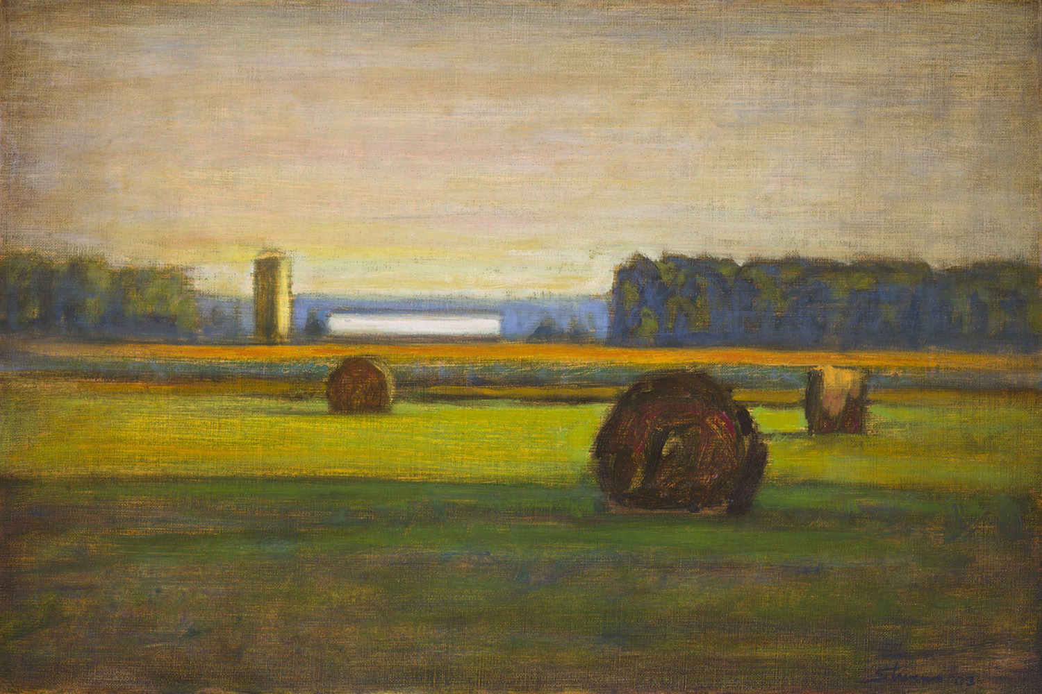 Pastoral Harmony  | oil on panel | 14 x 20"