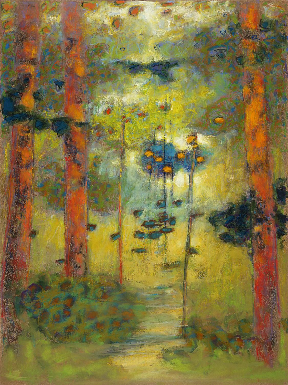 "25-14  | pastel on paper | 16 x 12"" | 2014"