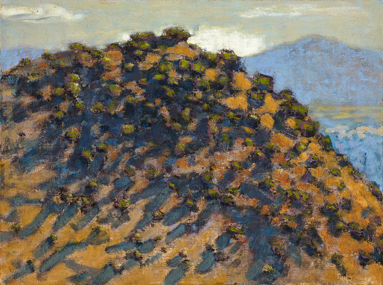 Hillside, New Mexico  | oil on linen | 12 x 16"