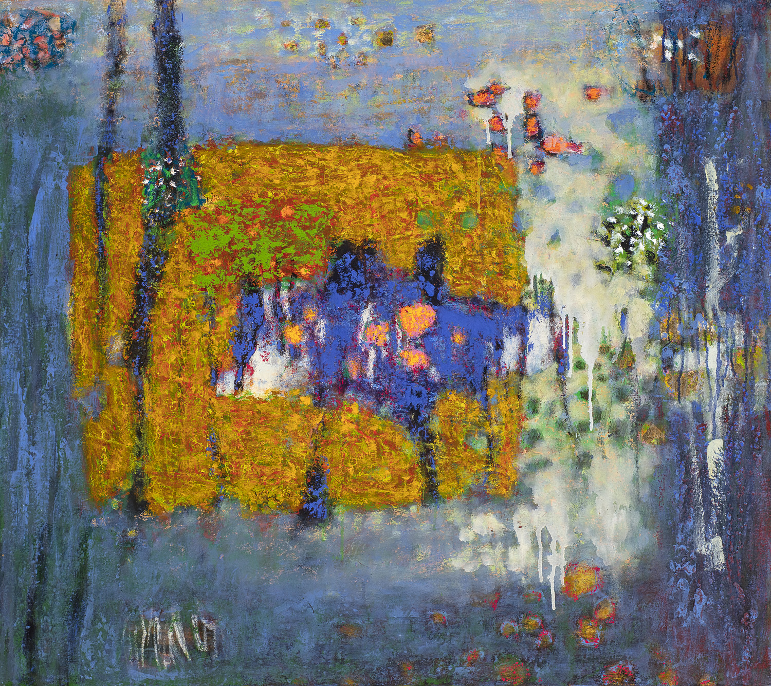 Just Being There  | oil on canvas | 32 x 36"