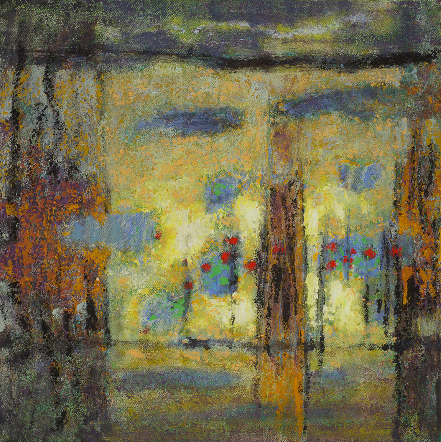 Passage to Home  | oil on canvas | 14 x 14"