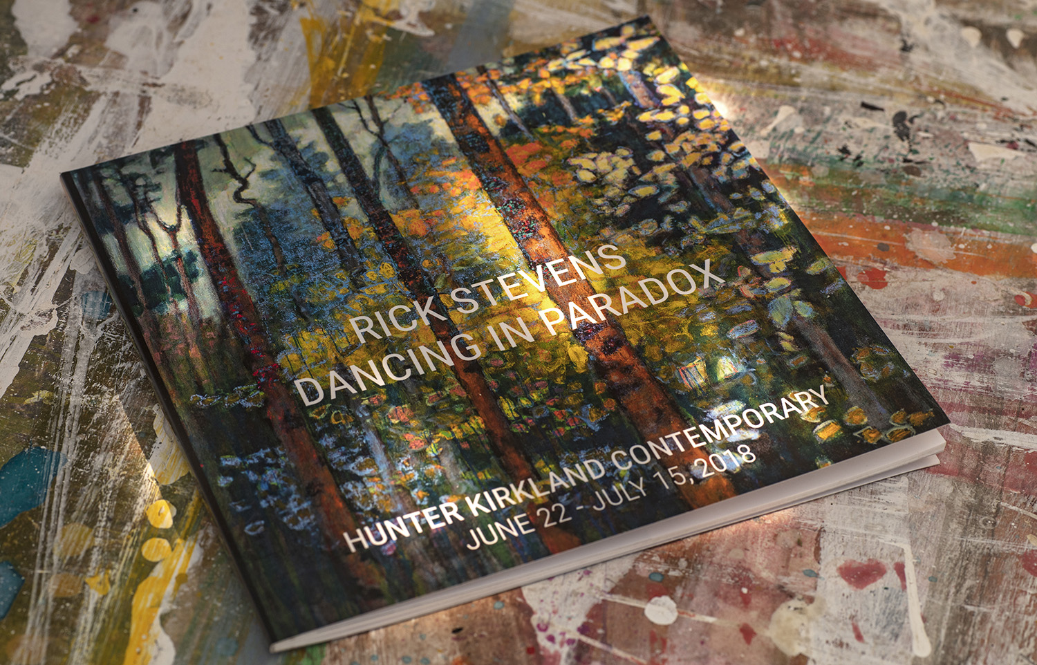 the entire catalog of Rick's upcoming exhibition,  Dancing in Paradox  is now available in print from  blurb.com