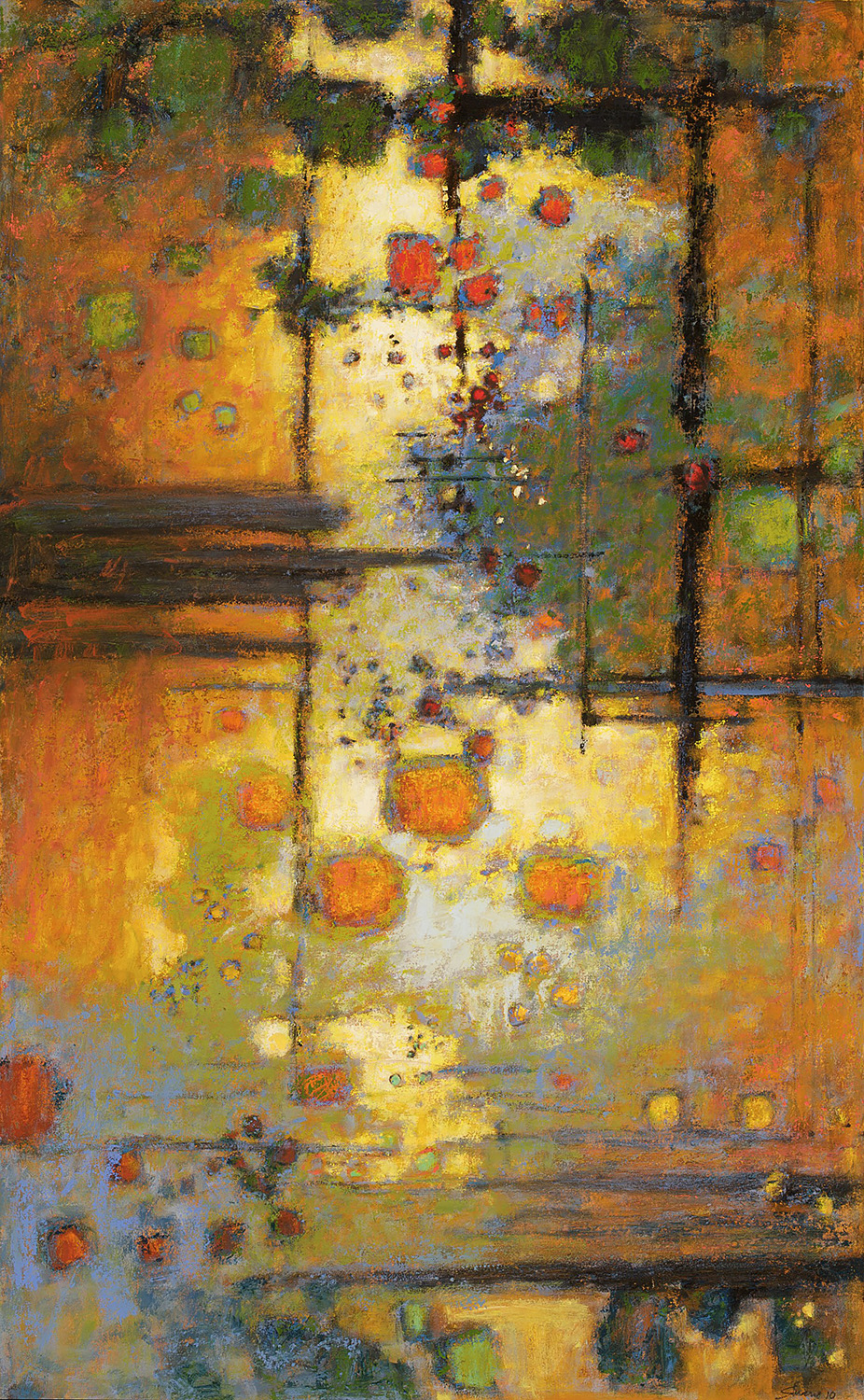Complexities Released  | oil on canvas | 51 x 32"