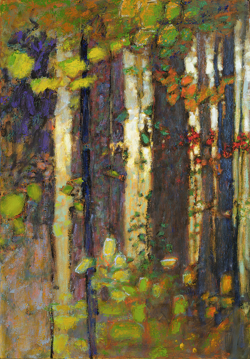 A Place in the Wilderness  | oil on canvas | 36 x 25"