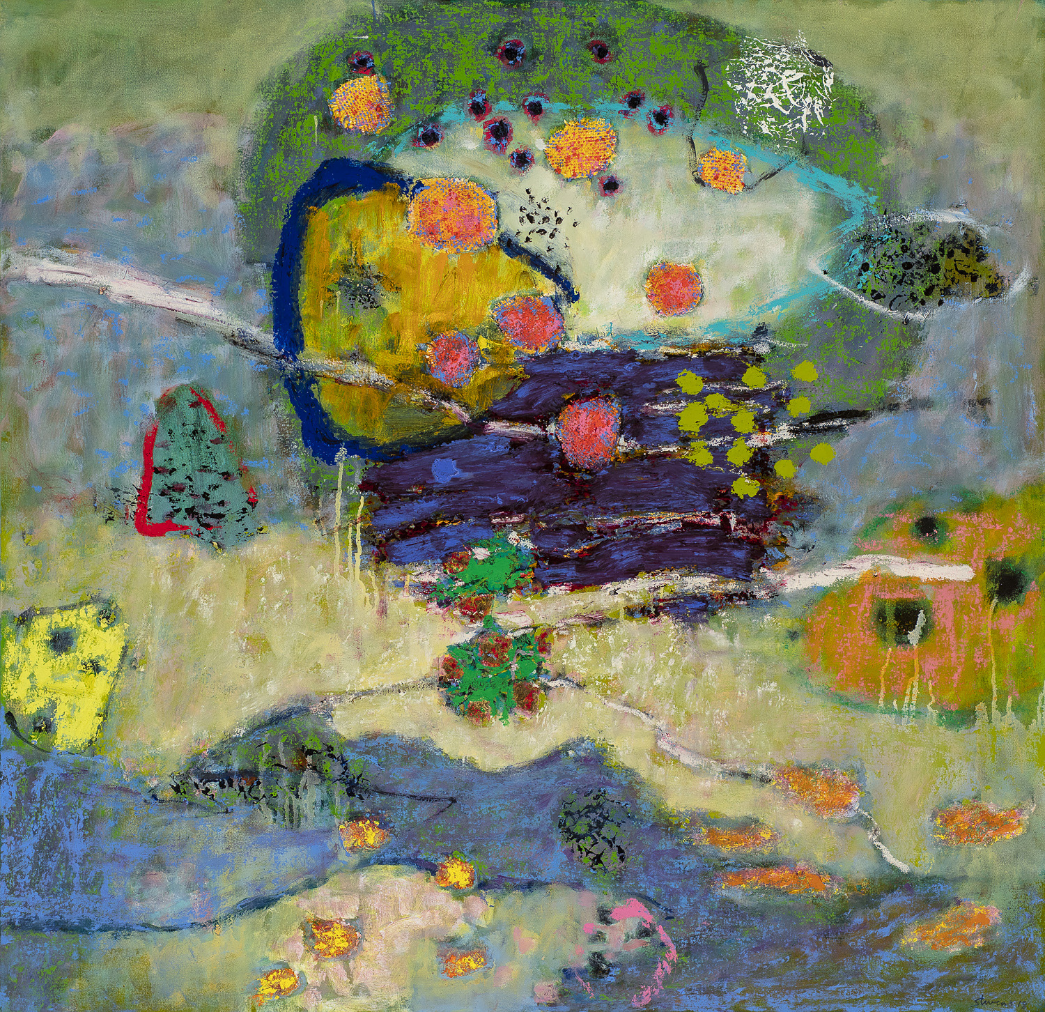 Serenade of Life  | oil on canvas | 36 x 36"