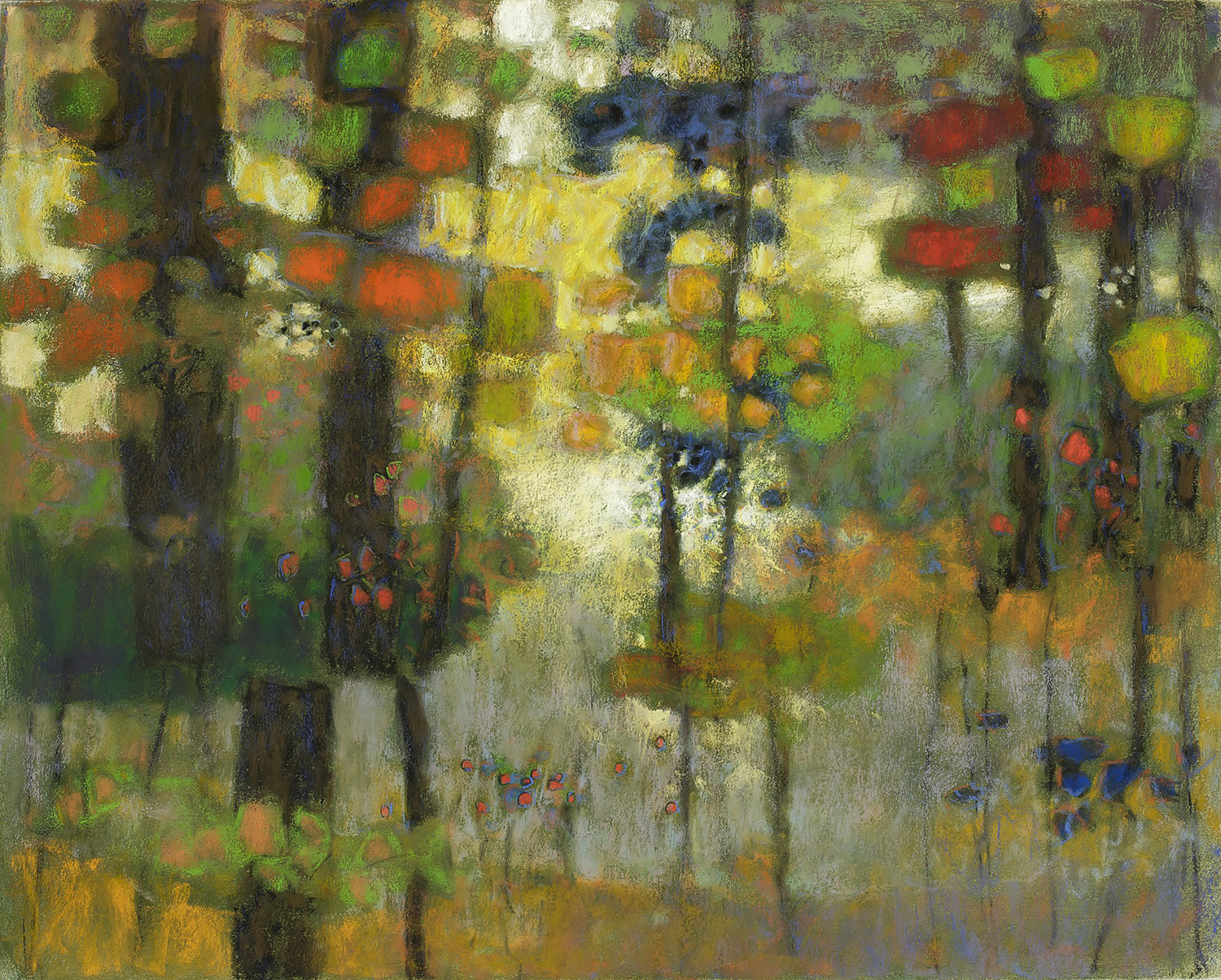 Where Spirits Dwell  | pastel on paper | 24 x 30"