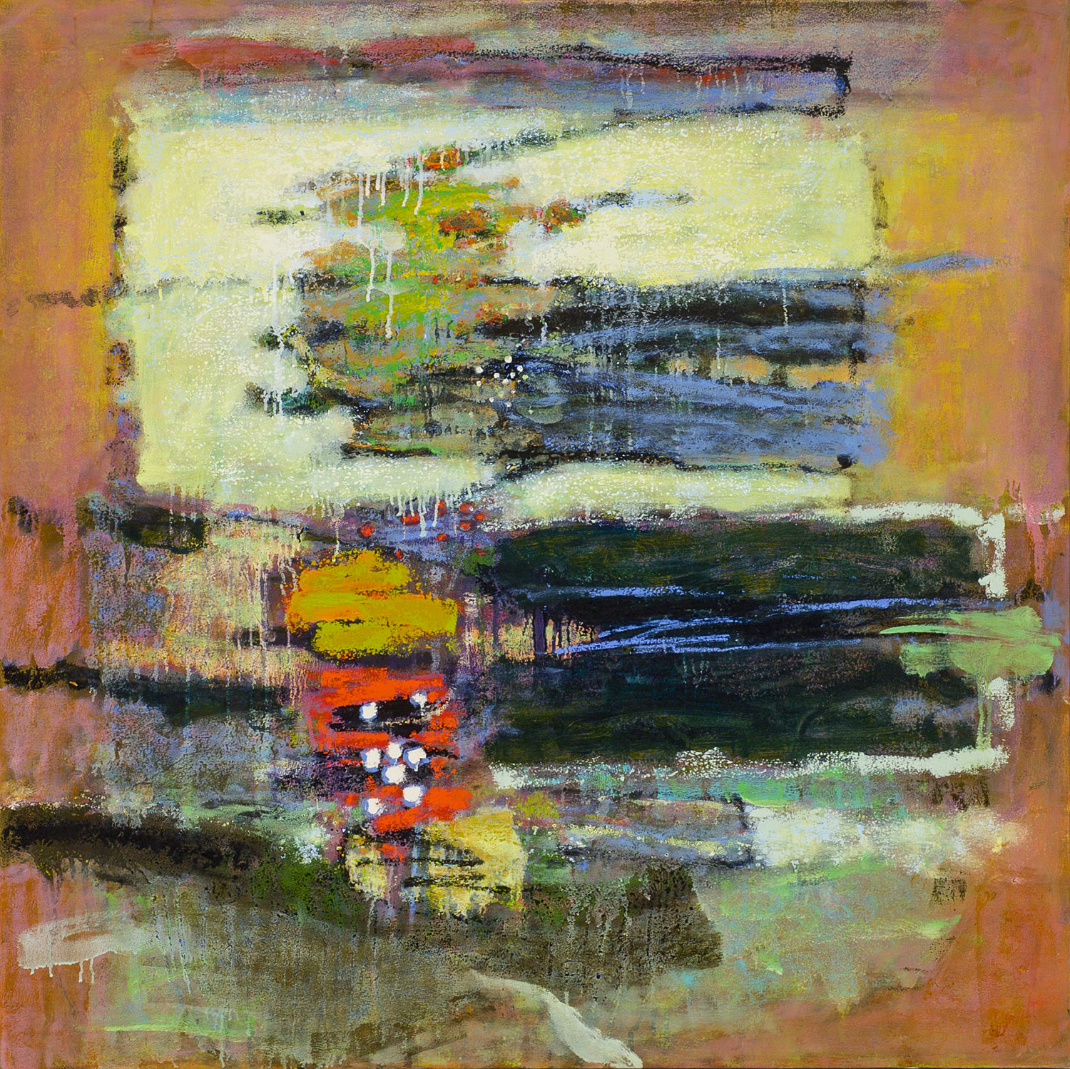 Relative Densities  | oil on canvas | 48 x 48"