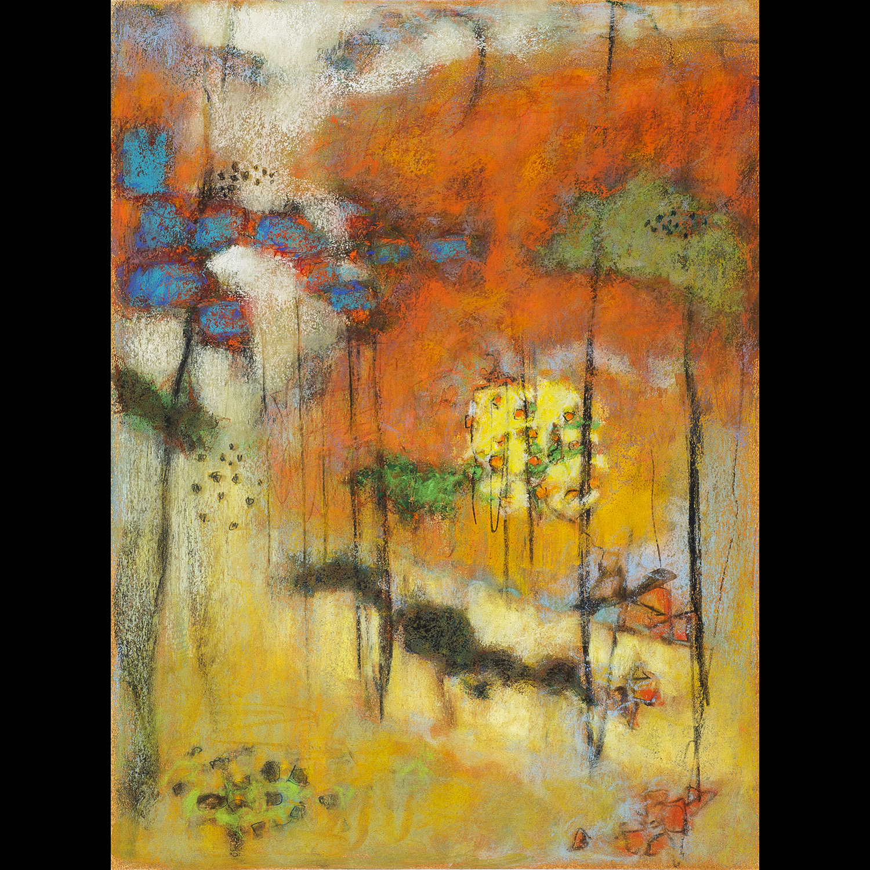 "30-13  | pastel on paper | 16 x 12"" | 2013"