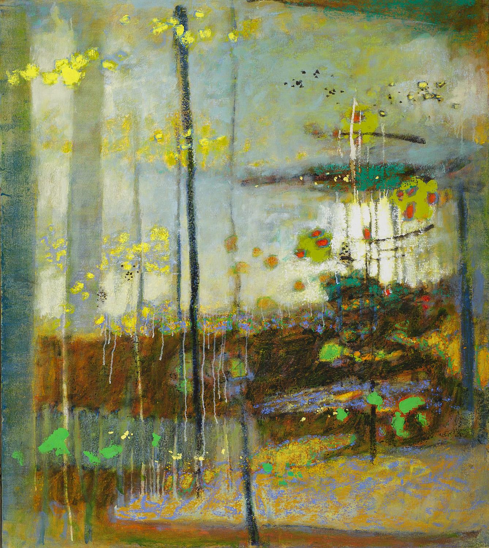 "Sanctuary in Light  | oil on canvas | 55 x 48"" | 2013"