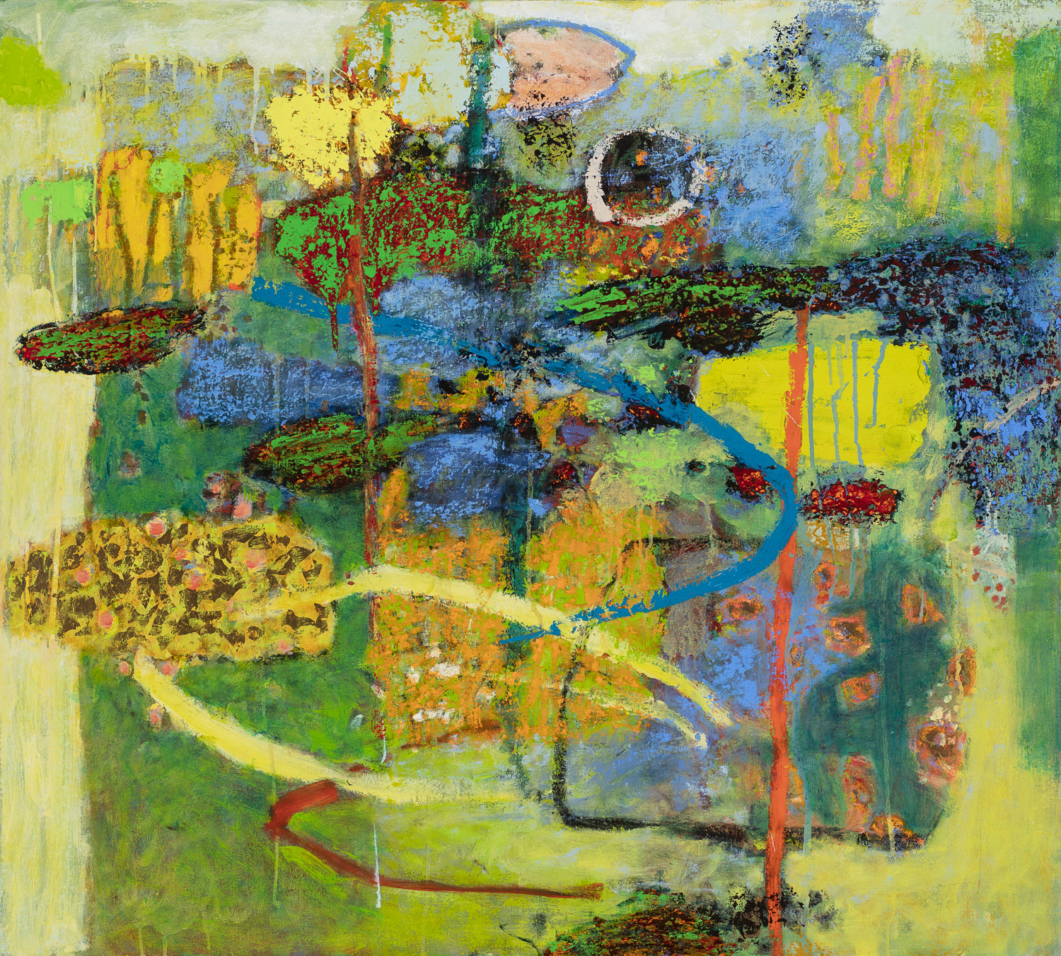 Many Worlds  | oil on canvas | 36 x 40"