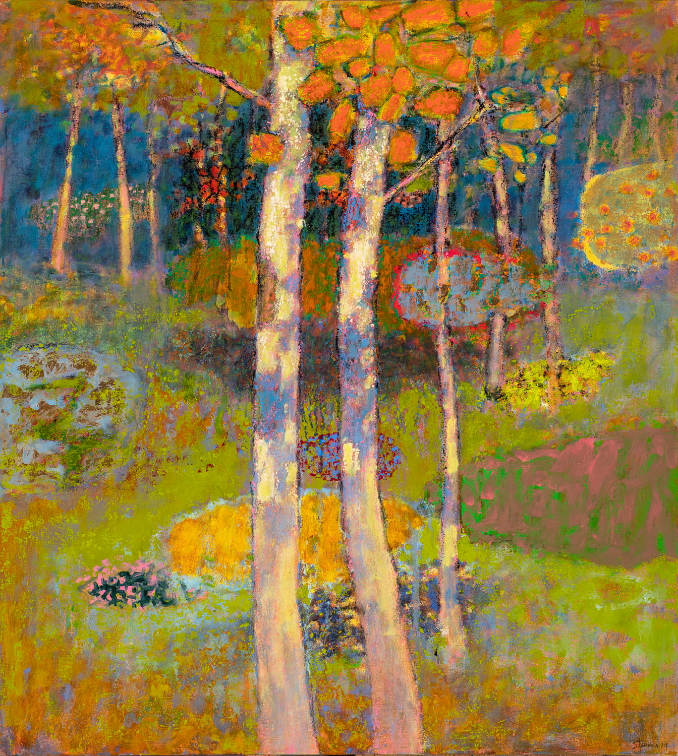 Facing The Mystery  | oil on canvas | 40 x 36"