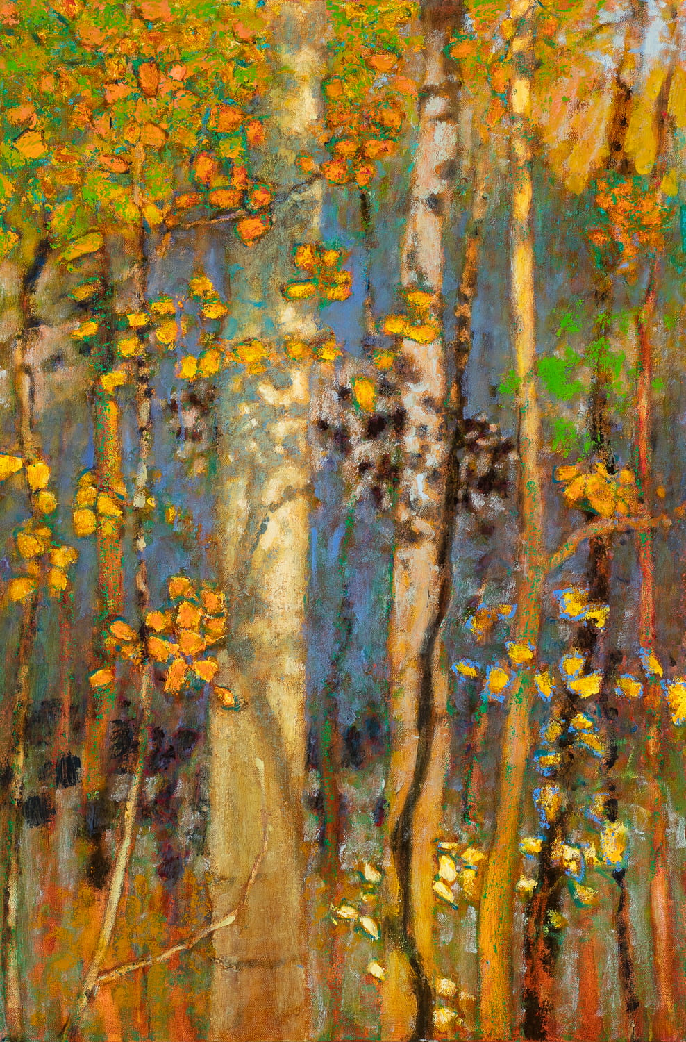 Autumn Shimmer  | oil on canvas | 36 x 24""