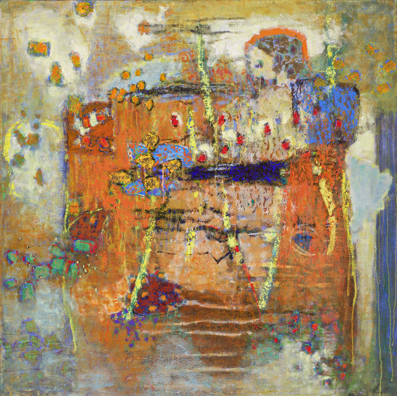 Relevant Patterns   | oil on canvas | 48 x 48"
