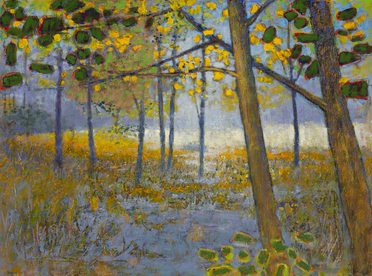 Visitation | oil on canvas | 32 x 43"