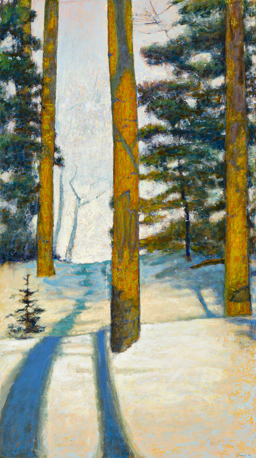Winter Silence  | oil on canvas | 64 x 36"