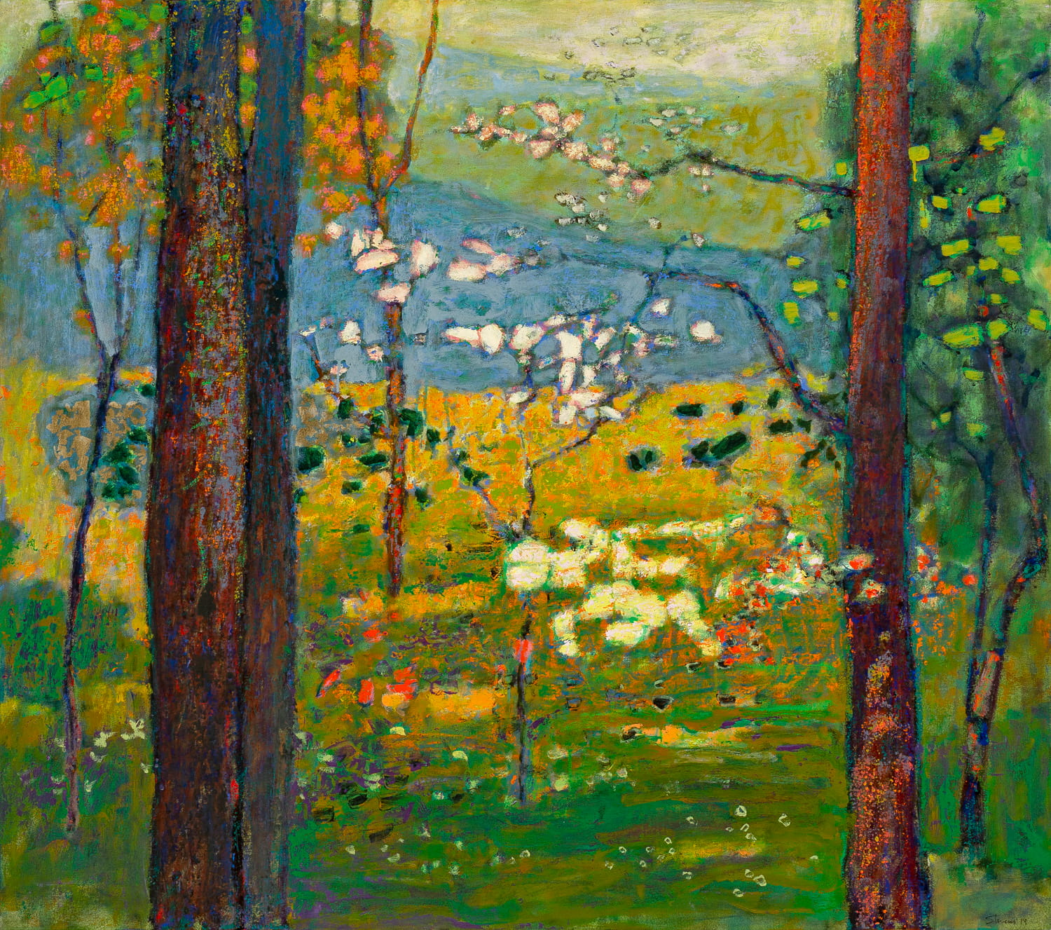 Spring II  | oil on canvas | 42 x 48"