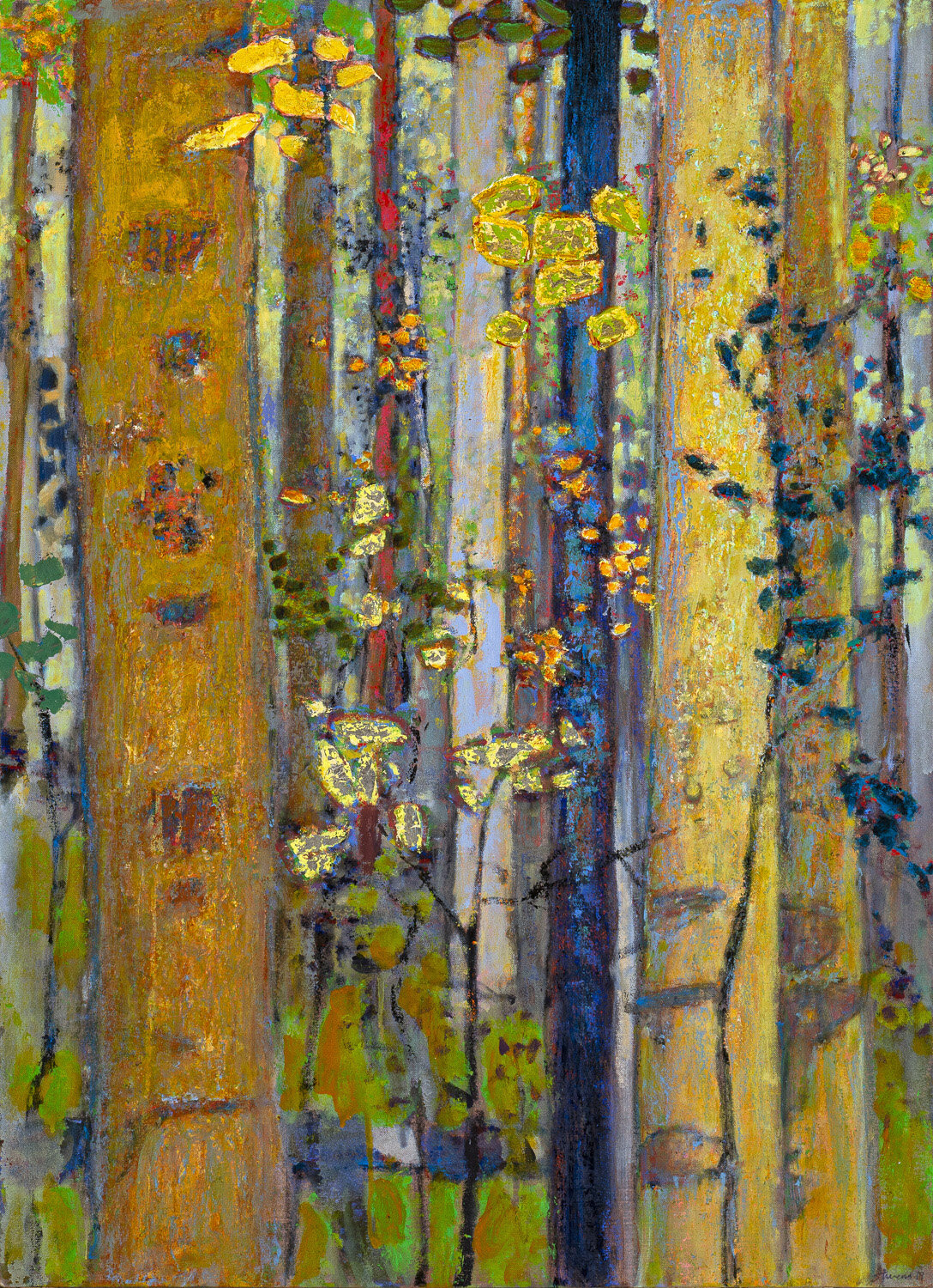 Patterns of the Forest  | oil on canvas | 44 x 32"
