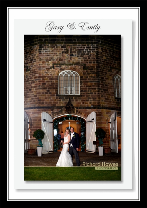 Congratulations to Gary & Emily Donoghue who married and had their reception at the beautiful Ripley Castle.