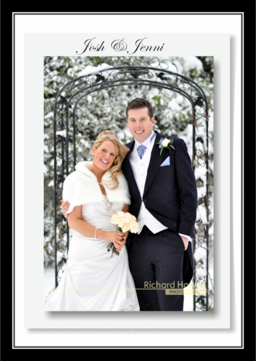 Congratulations to Josh & Jenni Parry who married and had their reception at the wonderfully snowy Craiglands Hotel, Leeds.