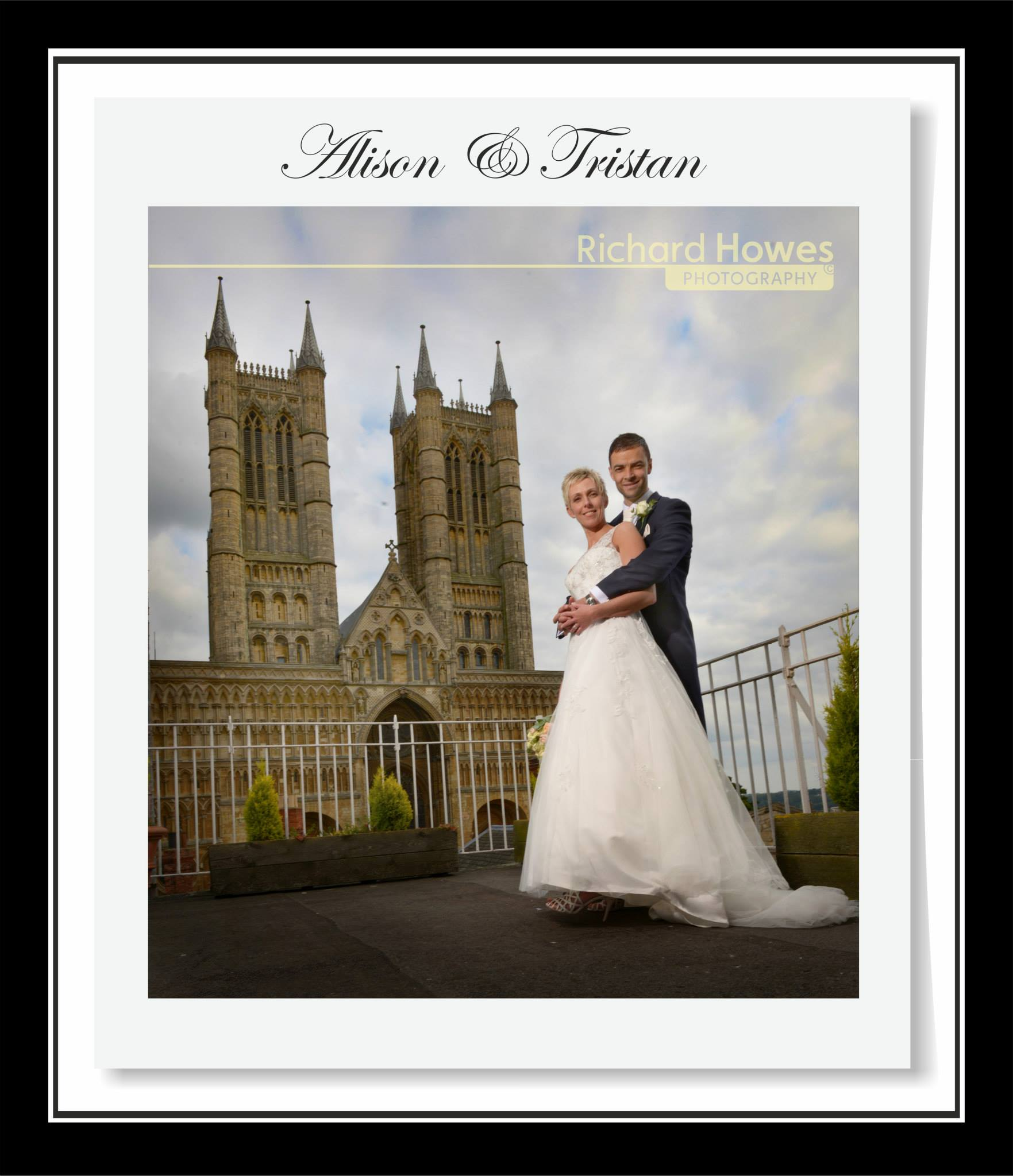 Congratulations to Alison and Tristan Lowe who were married and had their reception at The White Hart Hotel, Lincoln.