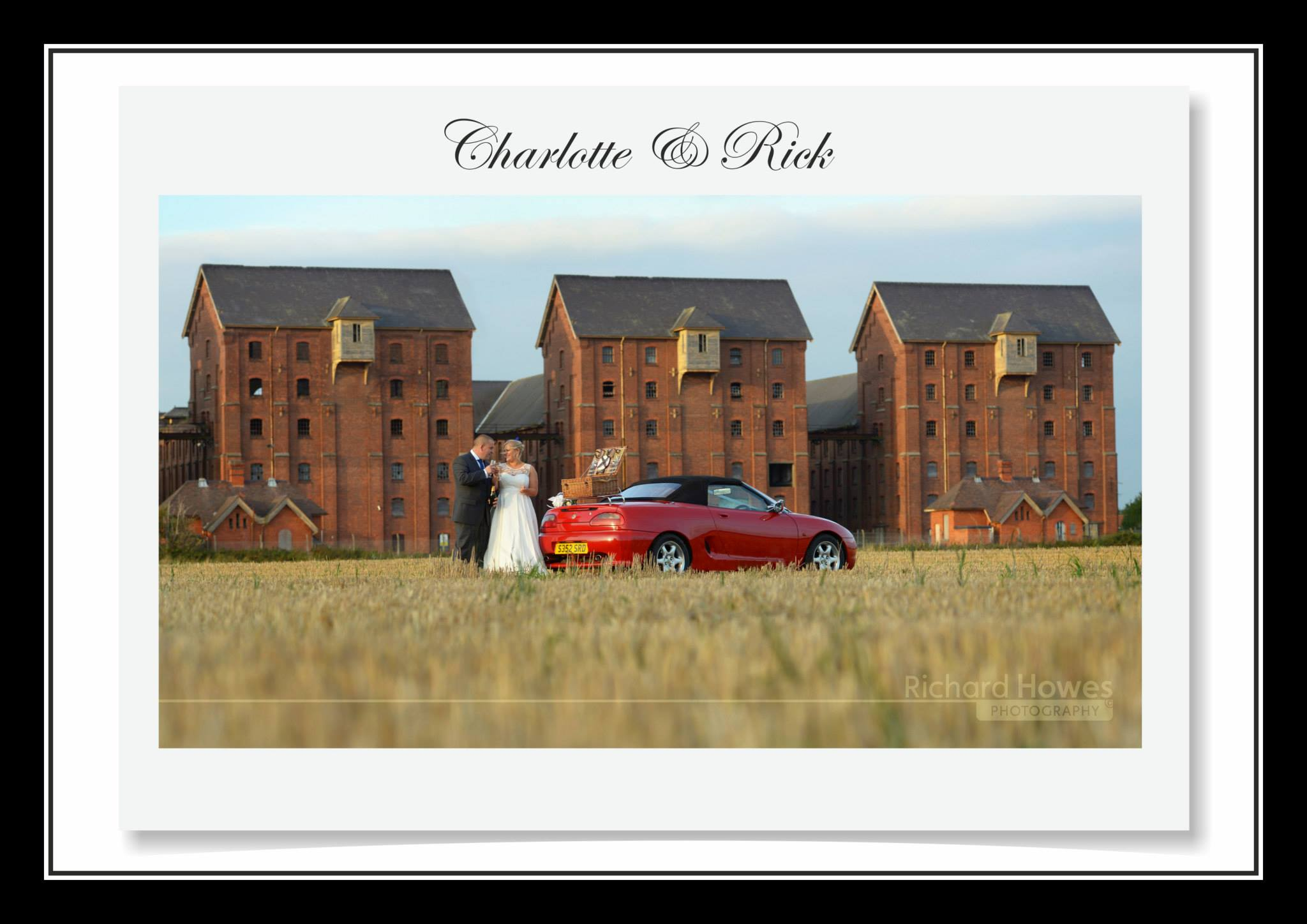 Congratulations to Charlotte & Rick Steele who were married and had their reception at The Carre Arms Hotel, Sleaford.