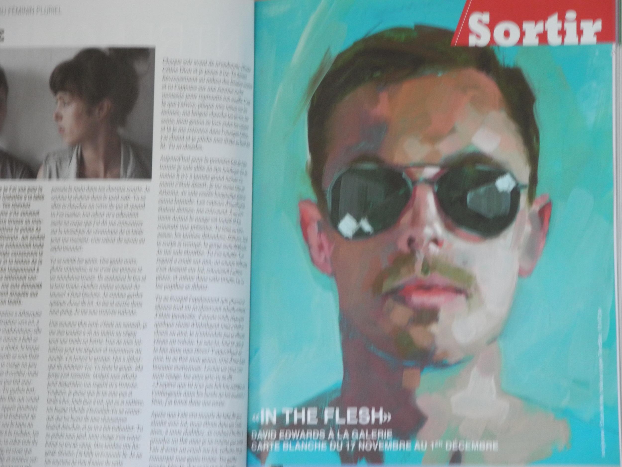 Le magazine Fugues ouvert aux pages 42-43.