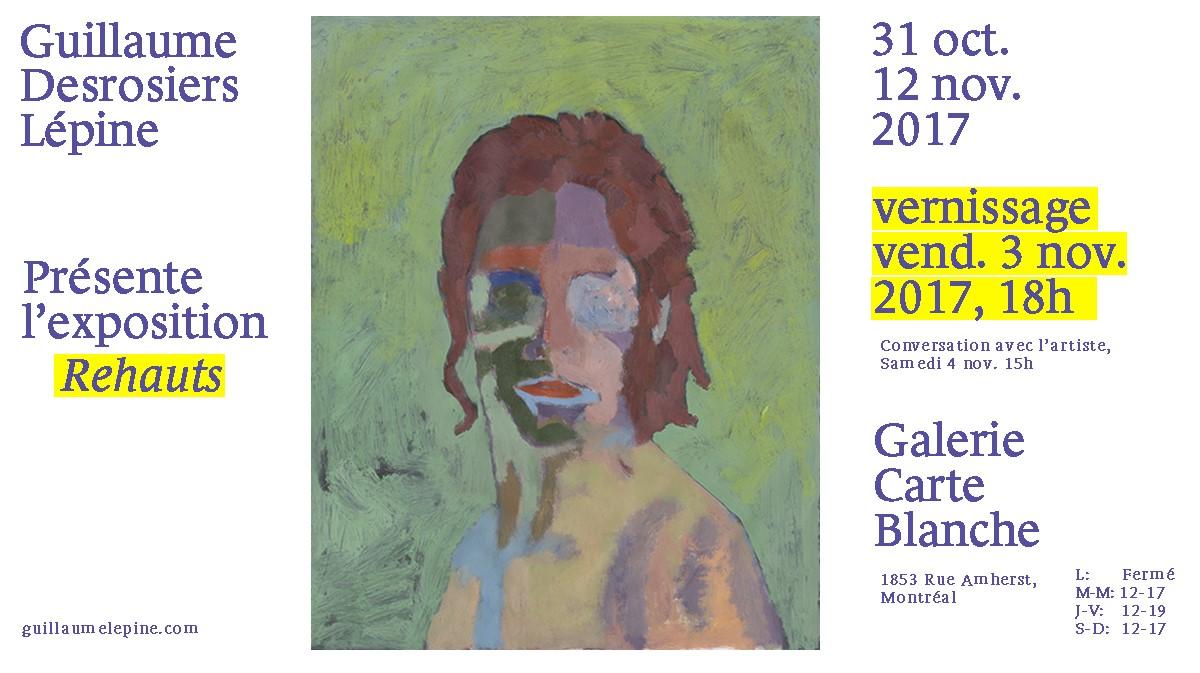 Guillaume Desrosiers Lépine,  Personnage au fond vert , impression numérique, peinture acrylique, 2017, 16 x 20 po.