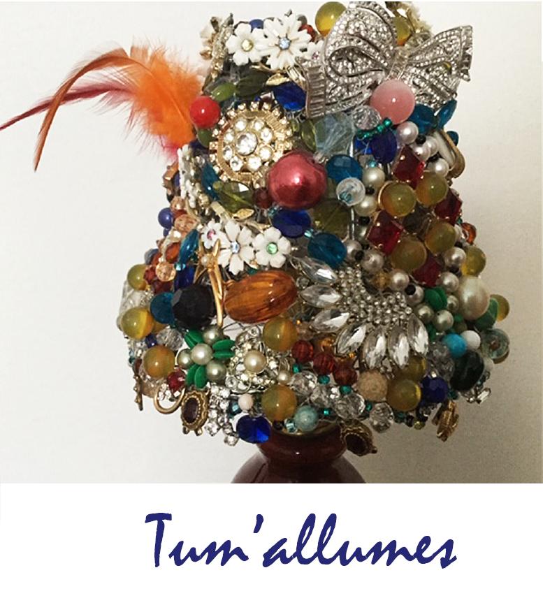 """Tu m'allumes"",  création de Yolande Poirier."