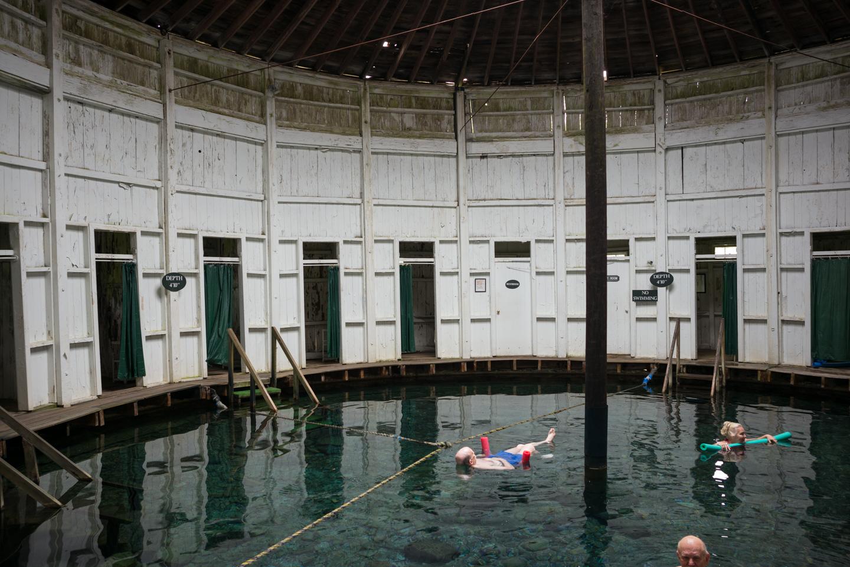 Jefferson Baths. Warm Springs, Virginia 2015